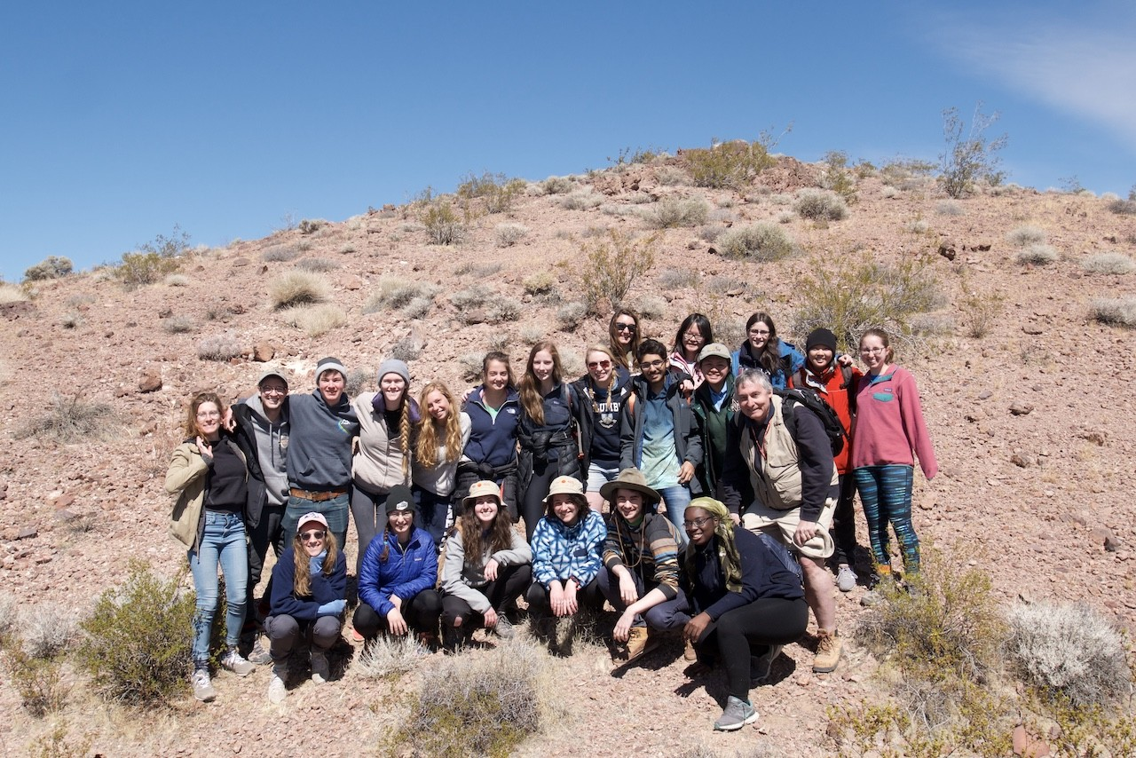 Death Valley Field Trip Group Photo (2018)