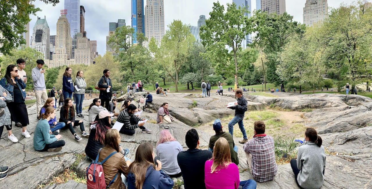 Central Park Geology Field Trip (2019)